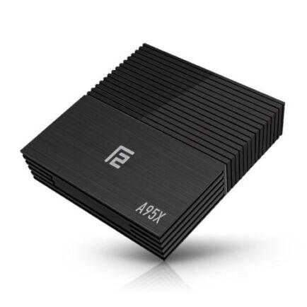 EU ECO Raktár - A95X F2 Smart TV Box Android 9.0 - Fekete 4GB RAM+64GB ROM