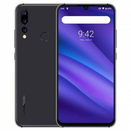 EU ECO Raktár - UMIDIGI A5 PRO 4G okostelefon - Fekete