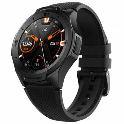 EU ECO Raktár - Ticwatch S2 Úszáshoz Ajánlott GPS Sport Aktivitásmérő Okosóra - Fekete