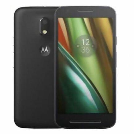 EU CO Raktár - Motorola Moto E3 Power 4G okostelefon - Fekete