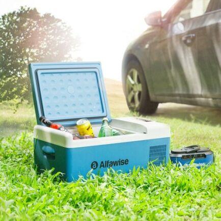EU ECO Raktár - Alfawise B15 15L Autós Hordozható Hűtőtáska