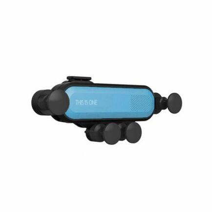 Minismile 360-Fokban Forgatható Autós Mobiltelefon Tartó - Kék