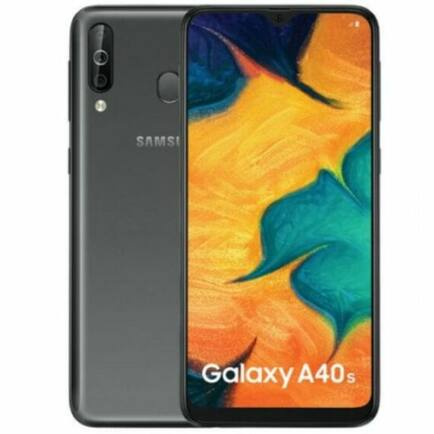 EU ECO Raktár - Samsung Galaxy A40s 4G okostelefon - Fekete