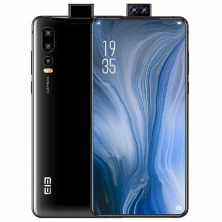 EU ECO Raktár - ELEPHONE U2 4G okostelefon 6.26 inch FHD Globális verzió - Fekete