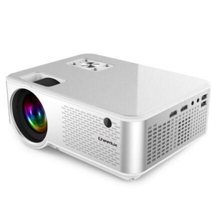 EU ECO Raktár - Cheerlux C9 LCD Otthoni Projektor - Fehér