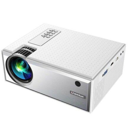 EU ECO Raktár - Cheerlux C8 LCD Otthoni Projektor - Fehér