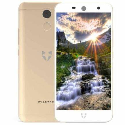 EU ECO Raktár - Wileyfox Swift 2 Plus 4G Okostelefon - Arany