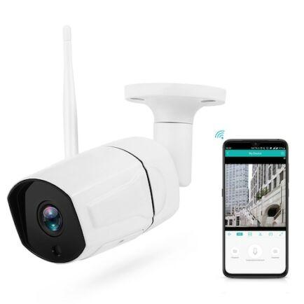 Stalwall N648 Smart 1080P AI WiFi IP Kamera - Fehér