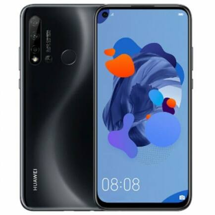 EU ECO Raktár - HUAWEI nova 5i 4G okostelefon - 6GB 128GB - Fekete