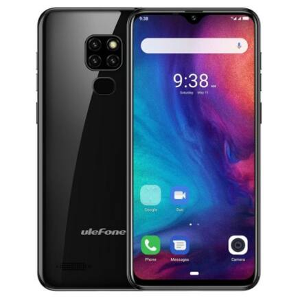 EU ECO Raktár - Ulefone Note 7P 4G okostelefon - Fekete
