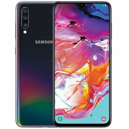 EU ECO Raktár - SAMSUNG Galaxy A70 4G okostelefon - 8GB 128GB - Fekete