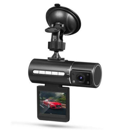 Tecney N2 1080P Infravörös Autós Menetrögzítő Kamera - Fekete