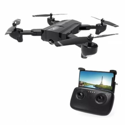 EU ECO Raktár - SG900 - S WiFi FPV HD Kamerás Drón - Fekete - 720P (1100mah)