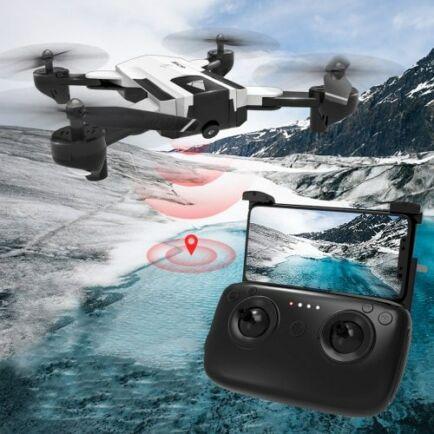 EU ECO Raktár - SG900 - S WiFi FPV HD Kamerás Drón - Fehér - 1080P (1100mah)