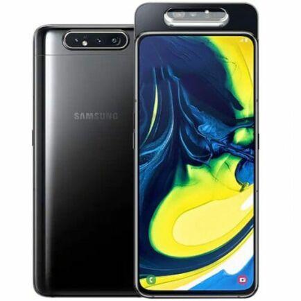 EU ECO Raktár - Samsung Galaxy A80 4G okostelefon - 8GB 128GB - Fekete