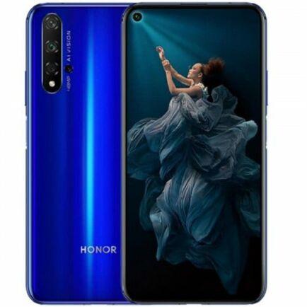 EU ECO Raktár - HUAWEI Honor 20 4G okostelefon - 8GB 128GB - Kék