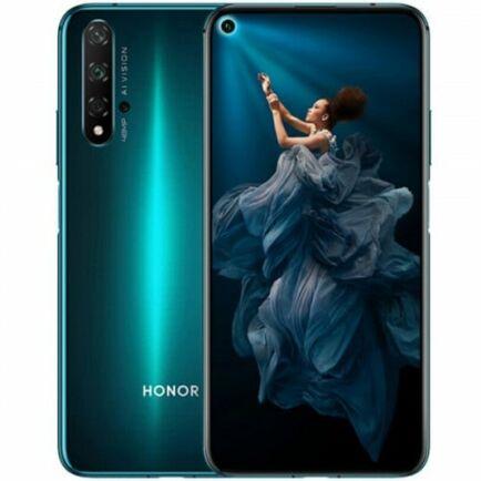 EU ECO Raktár - HUAWEI Honor 20 4G okostelefon - 8GB 128GB - Zöld