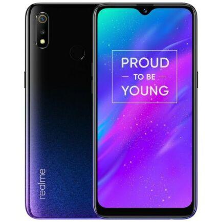 EU ECO Raktár - Realme 3 4G okostelefon - 3GB 32GB - Fekete