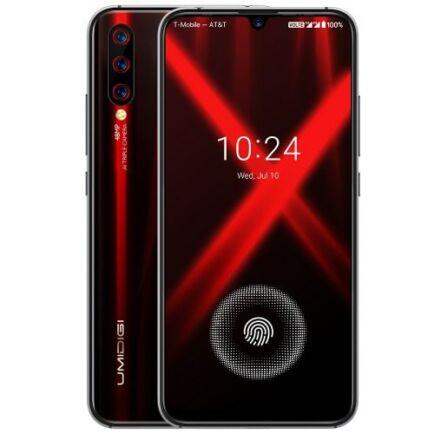 EU ECO Raktár - UMIDIGI X 4G okostelefon - 4GB 128GB - Fekete