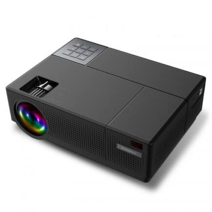 EU ECO Raktár -  Cheerlux CL770 LCD Otthoni Projektor - Fekete