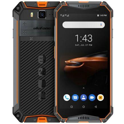 EU ECO Raktár - Ulefone Armor 3W 4G okostelefon 5.7 inch Android 9.0 4GB RAM 64GB ROM - Narancssárga