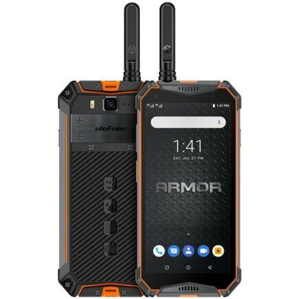EU ECO Raktár - Ulefone Armor 3WT 4G okostelefon 5.7 inch Android 9.0 4GB RAM 64GB ROM - Narancs