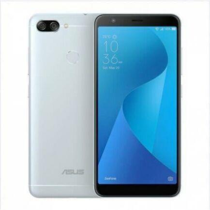 EU ECO Raktár - ASUS Zenfone Max Plus 4 GB RAM + 64 GB ROM - Ezüst