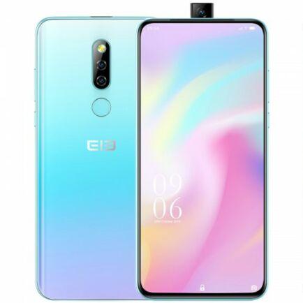 EU ECO Raktár - Elephone PX 4G okostelefon 6.53 inch Android 9.0 4GB RAM 64GB ROM - Kristály Krém