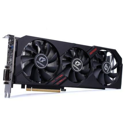 EU ECO Raktár - Colorful iGame GeForce GTX 1660 SUPER Ultra 6GB Grafikus Kártya - Fekete