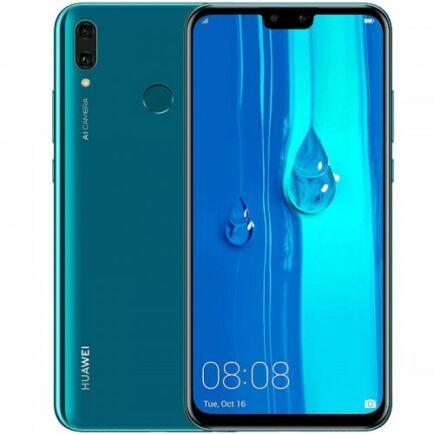 EU ECO Raktár - HUAWEI Y9 4G okostelefon 6.5 inch Android 8.1 4GB RAM 64GB ROM - Türkiz