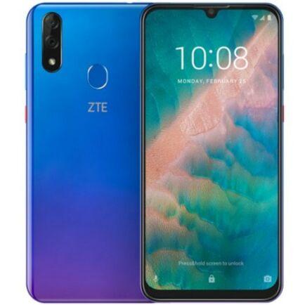 EU ECO Raktár - ZTE Blade V10 4G Okostelefon 6.3 inch Android 9.0 Helio P70 Octa Core 4GB RAM 64GB ROM - Kék