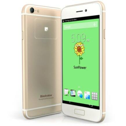 "Blackview Ultra A6 4.7"" HD IPS Android 4.4 MTK6582 OTG 3G Okostelefon"