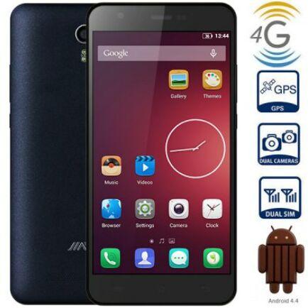 "EU ECO Raktár - Jiayu S3 5.5"" FHD IPS OGS Android 4.4 MTK6752 64bit 3GB RAM NFC 4G Phablet - Fekete"