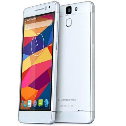 "EU ECO Raktár - LANDVO L600S 5.0"" HD Android 4.4 MT6732M 64bit 4G Okostelefon - Ezüst"