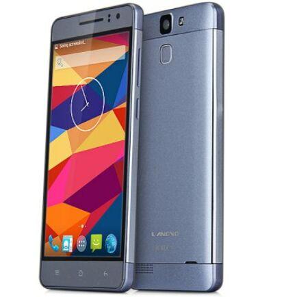 "EU ECO Raktár - LANDVO L600S 5.0"" HD Android 4.4 MTK6732M 64bit 4G Okostelefon - Szürke"