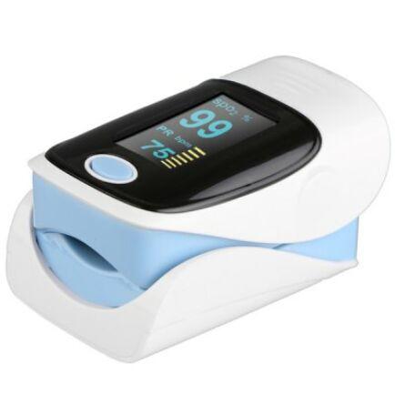 RZ001 hordozható pulzoximéter vér oxigén telítettség és pulzusmérő - Fehér