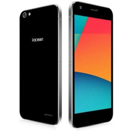 "EU ECO Raktár - iocean X9 5.0"" FHD Android 5.0 MTK6752 64bit 3GB RAM OTA 4G Okostelefon - Fekete"