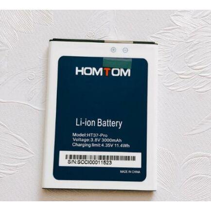 HOMTOM HT37 / HT37 Pro 3000mAh akkumulátor - Fehér