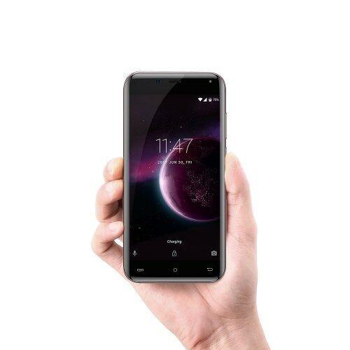 EU ECO Raktár - CUBOT Magic 4G Okostelefon Android 7.0 5.0 inch IPS Screen MTK6737 Quad Core 1.3GHz 3GB RAM 16GB ROM - Fekete