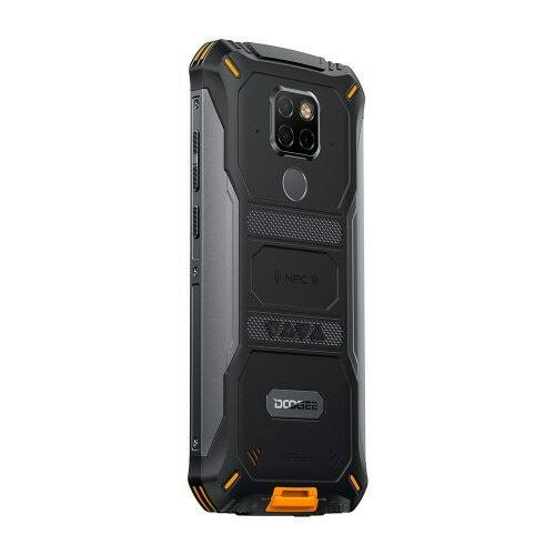 EU ECO Raktár -DOOGEE S68 Pro Rugged 4G IP67 Vízálló Okostelefon NFC 6300mAh 5.9 inch FHD - Fekete