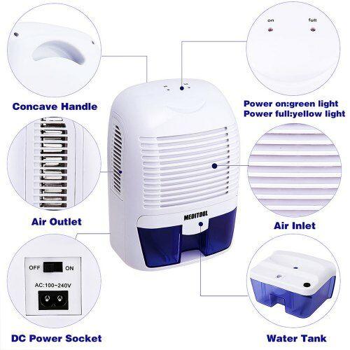 Ultrasonic Elektromos Mini Légtisztító Lámpa - Fehér