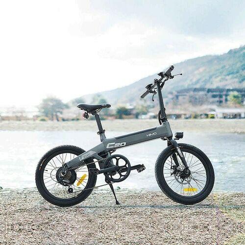 EU ECO Raktár -  Xiaomi HIMO C20 10AH Elektromos Kerékpár - Fekete