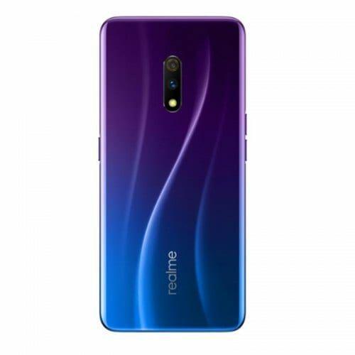EU ECO Raktár -  OPPO REALME X 4G Okostelefon 48MP Dual Camera Android 9 - Kék 4GB RAM + 64GB RAM