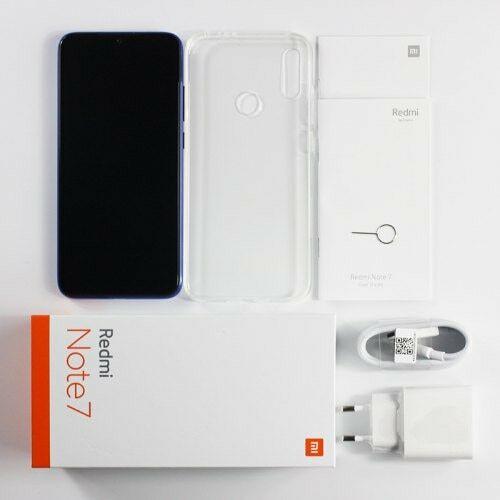 EU ECO Raktár - Xiaomi Redsmi Note 7 Globális Verzió 4GB RAM 64GB ROM 4G Okosteleofn - Kék