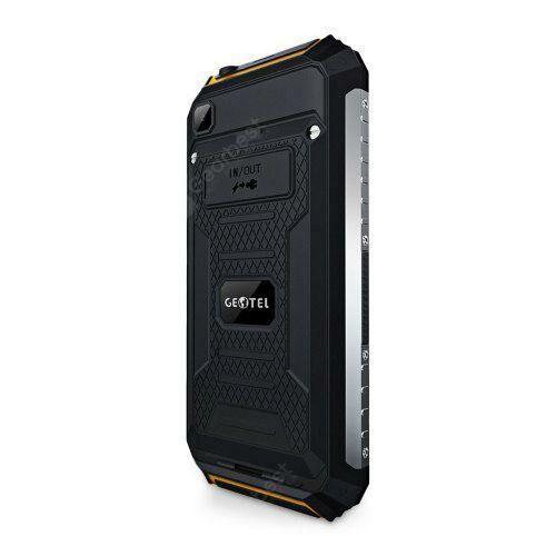 EU ECO Raktár - GEOTEL G1 5-inch 3G Okostelefon 2GB RAM 16GB ROM MTK6580A 4-core 1.3GHz Vízálló - Narancssárga