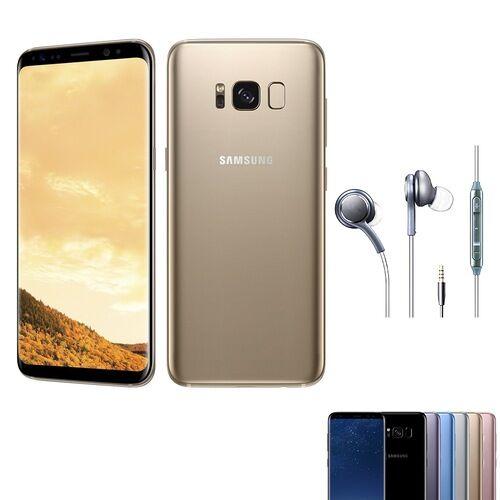 EU ECO Raktár - Samsung Galaxy S8+ 4GB RAM 64GB ROM 6.2 inches Android 7.0 Octa-core 4x2.35 GHz 3500mAh - Fekete