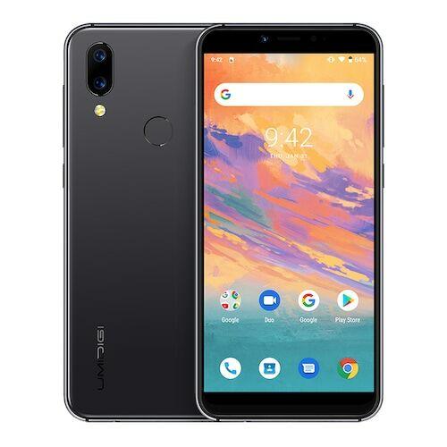 EU ECO Raktár - UMIDIGI A3S Android 10  3950mAh Dual előlapi Kamera 5.7 inch Okostelefon - Szürke