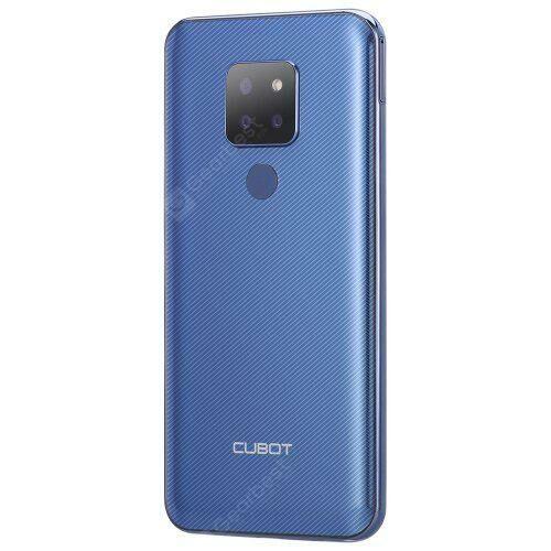 EU ECO Raktár - Cubot P30 4G Okostelefon EU Plug 4GB RAM 64GB ROM - Kék