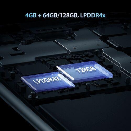 EU ECO Raktár - Umidigi A7 Pro Quad Camera Andriod 10 OS 6.3 inch FHD+ 4GB RAM 64GB ROM - Óceánkék