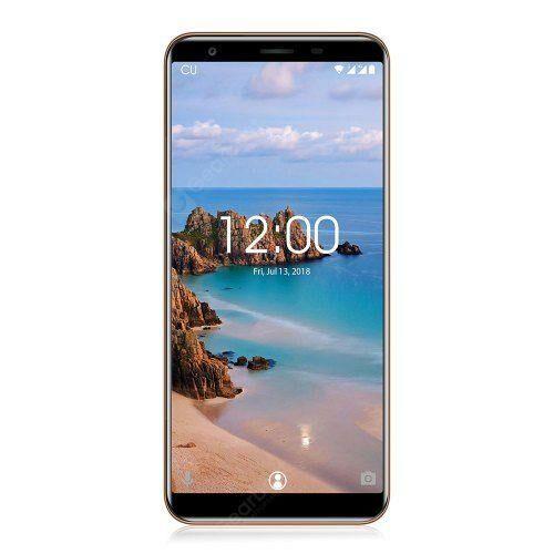 EU ECO Raktár - OUKITEL C11 Pro 4G 5.5-inch Okostelefon MTK6739 Quad Core 1.3GHz 3GB RAM 16GB ROM - Kék